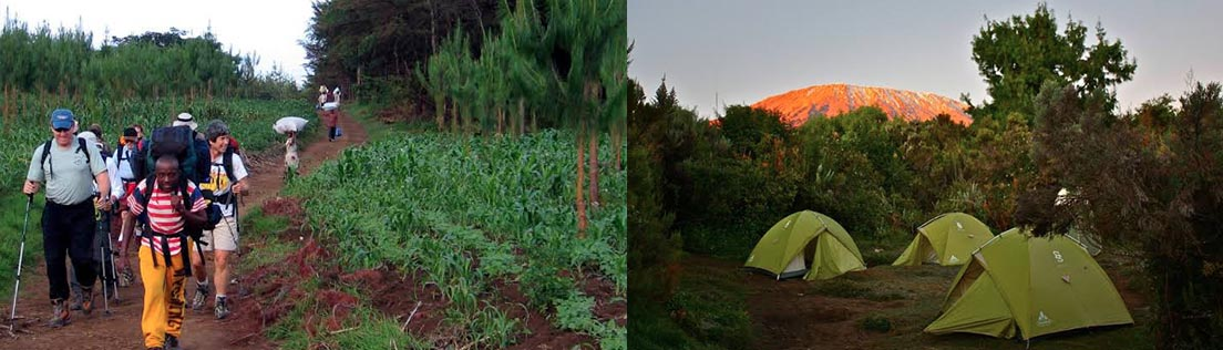 day 1 rongai route