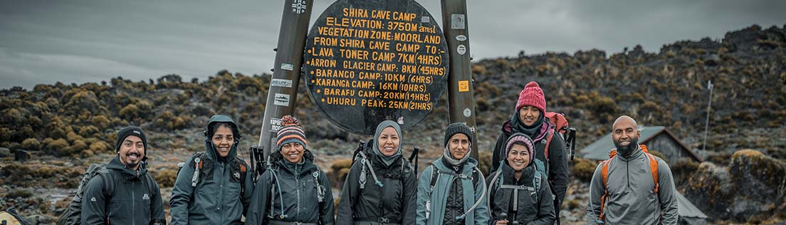 machame route 7 days day2